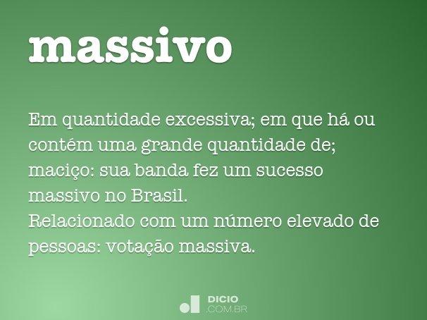 Massivo Dicio Dicionário Online De Português