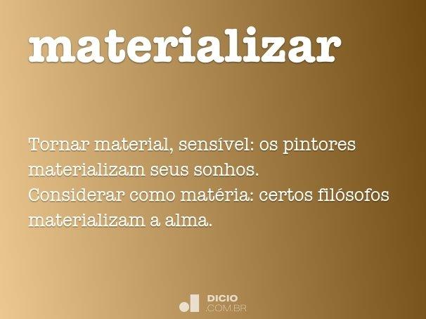 materializar