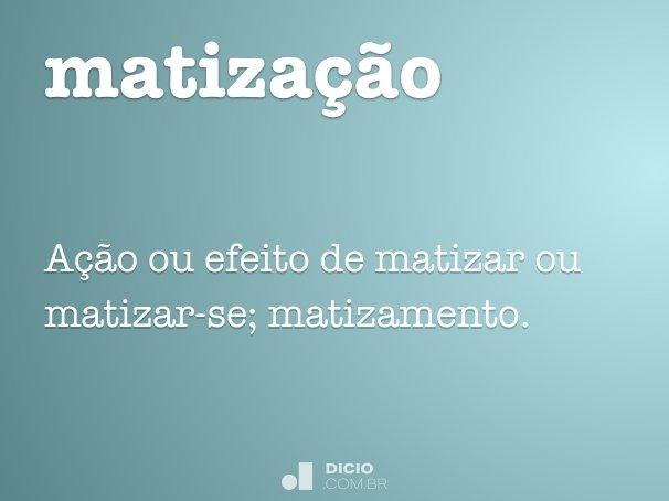 matização