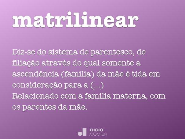 matrilinear