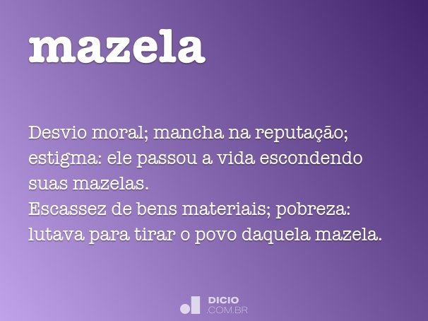 mazela