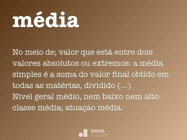 m�dia