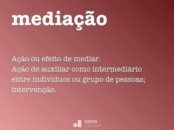 media��o