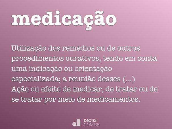 medica��o
