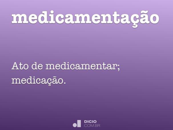 medicamentação