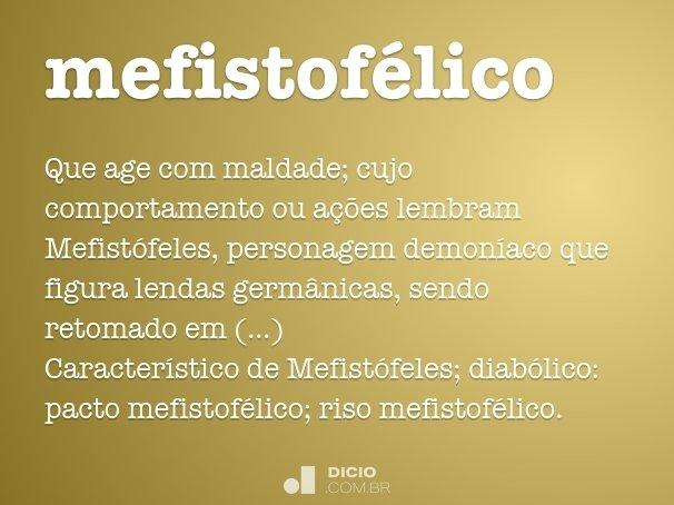 mefistof�lico