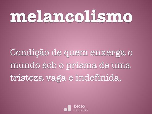melancolismo