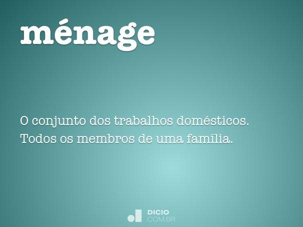m�nage