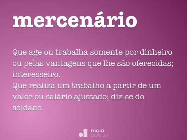 mercen�rio
