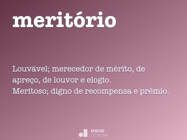 meritório