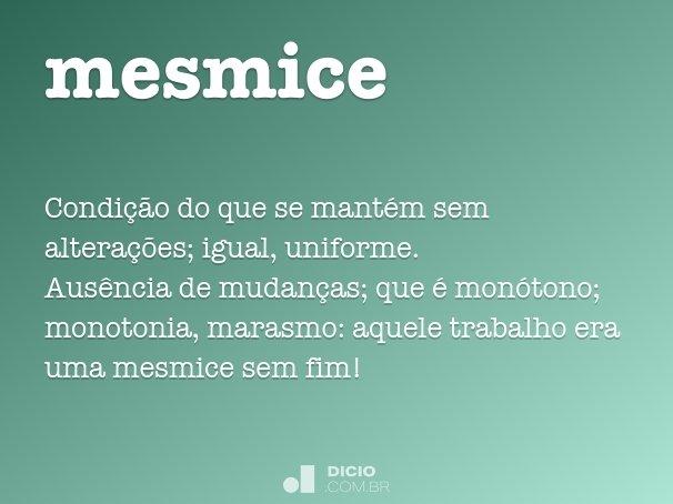 mesmice