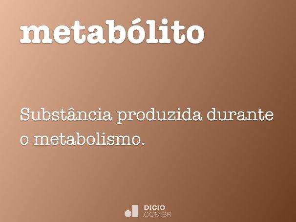 metabólito