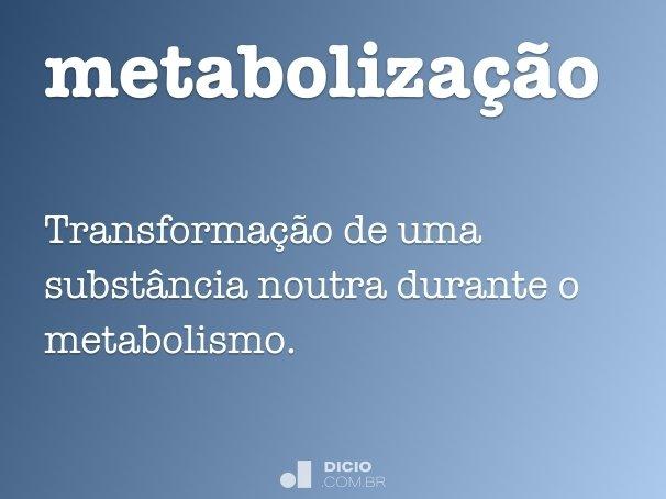 metaboliza��o