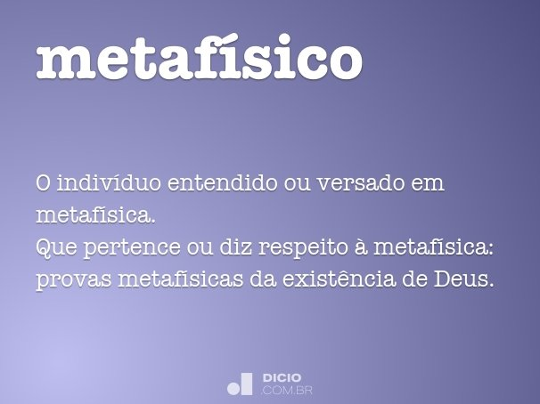 metaf�sico
