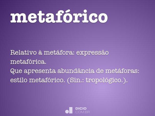 metafórico