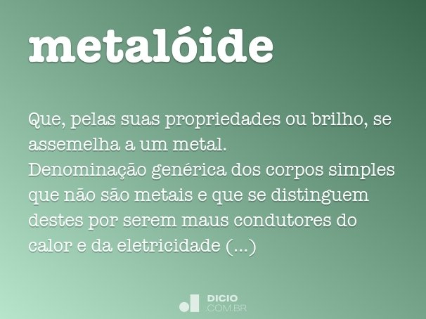 metalóide