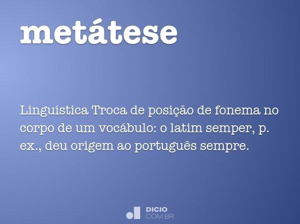 metátese