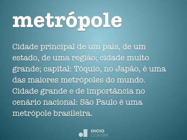metr�pole