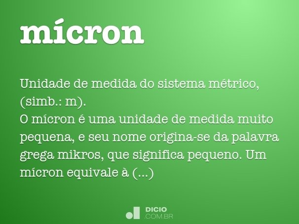mícron