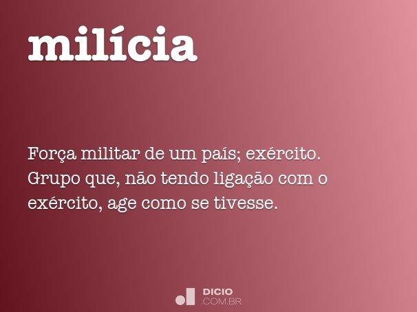 mil�cia