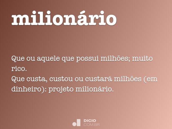 milion�rio