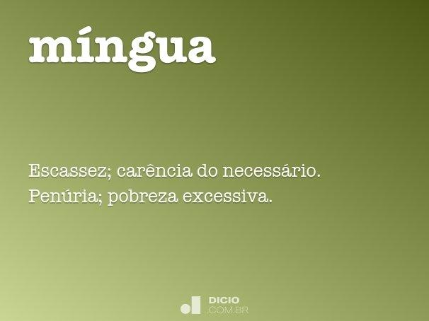 míngua