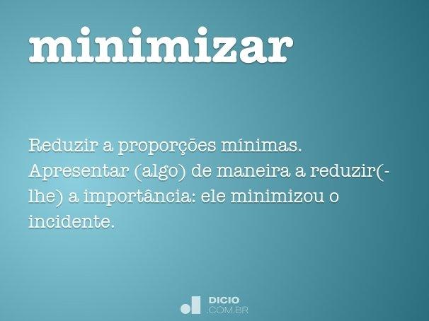 minimizar