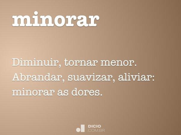 minorar