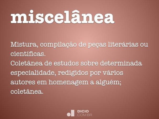 miscel�nea