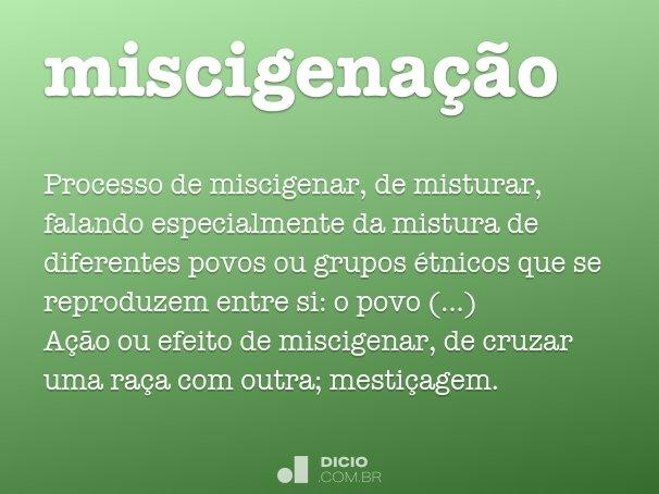 miscigena��o