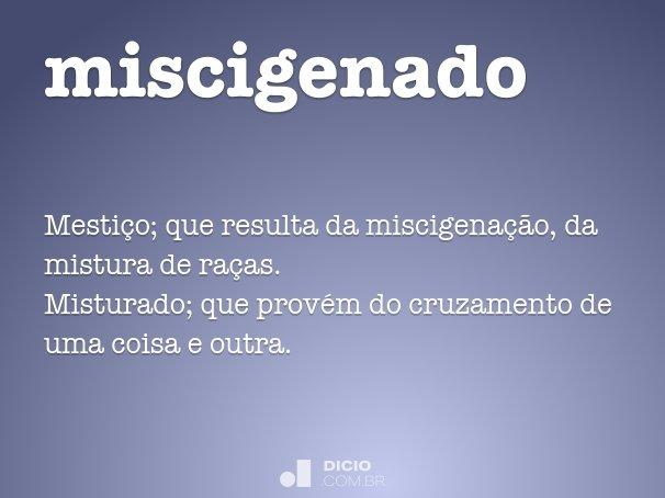 miscigenado