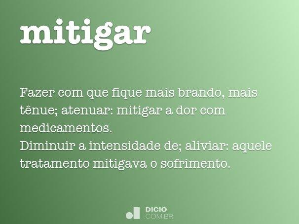 mitigar