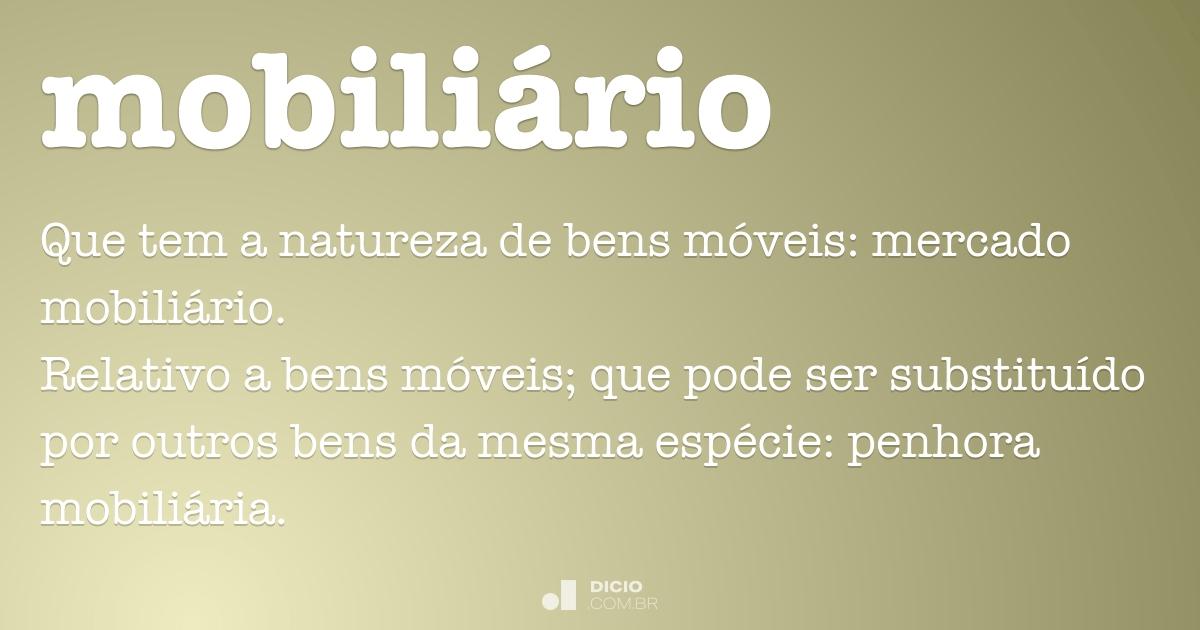 Mobili rio dicio dicion rio online de portugu s - Mobiliario on line ...