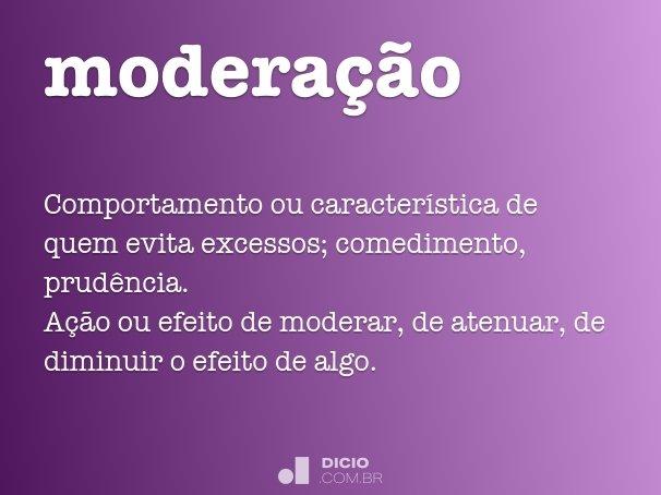 modera��o