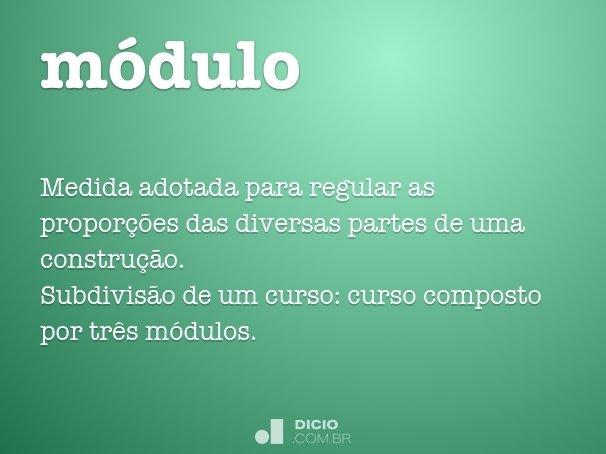 m�dulo