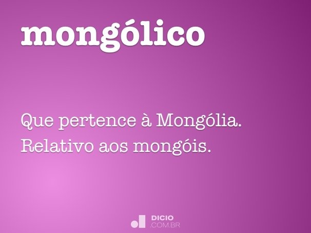 mong�lico
