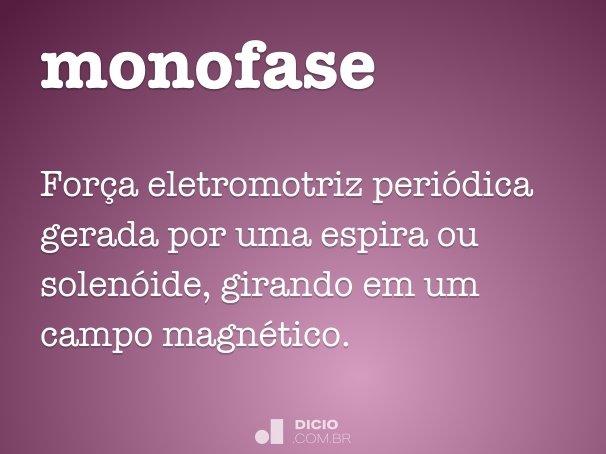 monofase
