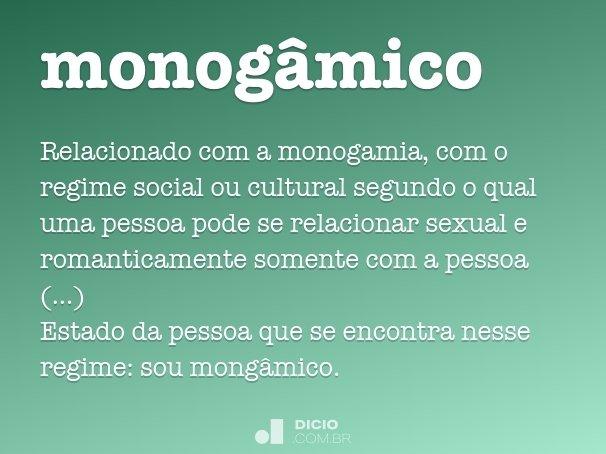 monogâmico