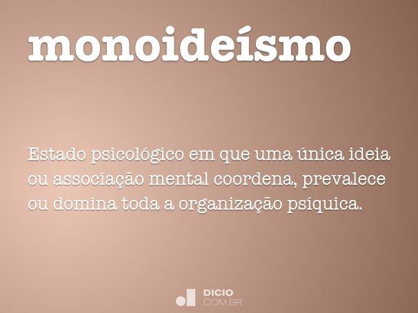 monoideísmo