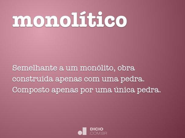 monol�tico