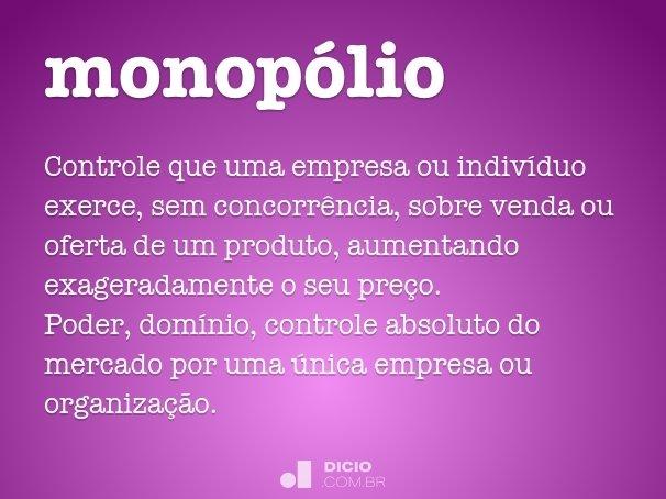 monop�lio