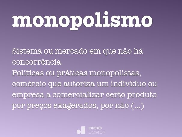 monopolismo
