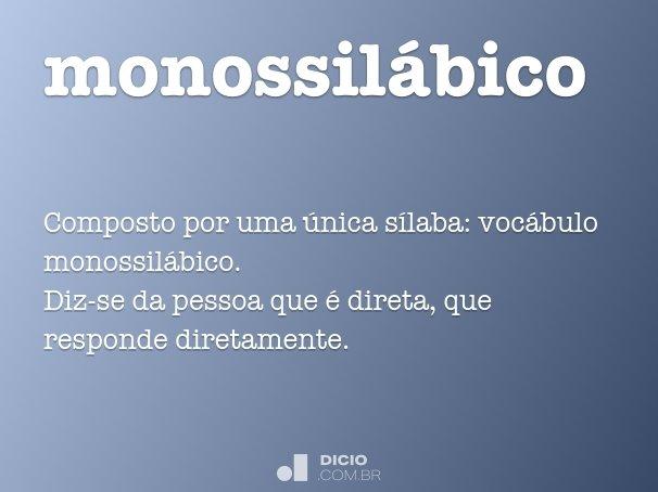 monossil�bico