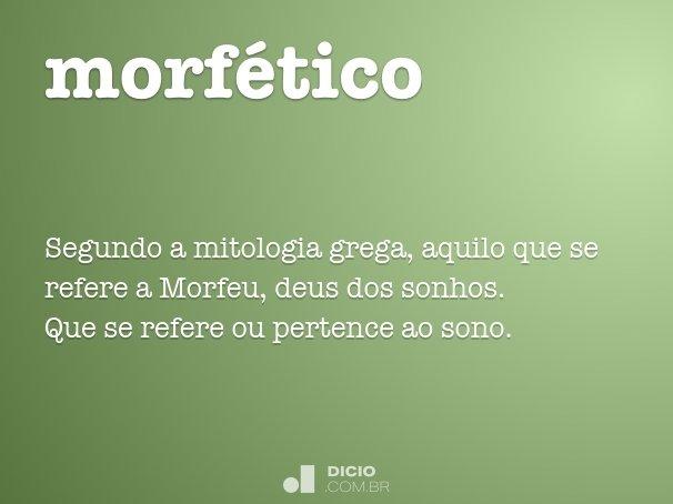 morf�tico