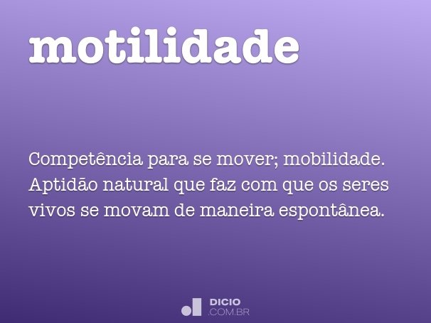 motilidade