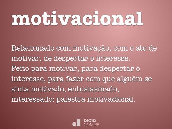 Motivacional Dicio Dicionário Online De Português