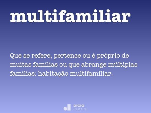 multifamiliar