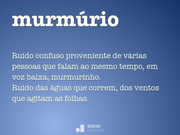 murmúrio