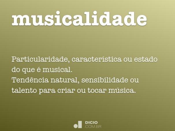 musicalidade