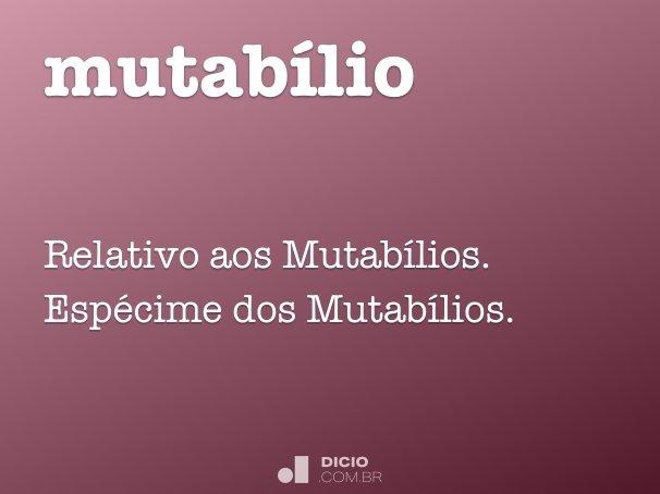 mutabílio